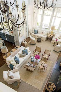 Palmetto Bluff Idea House: Living Room