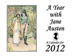 Quotations from Austen's novels and letters, with an entry on each date.