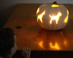 If you're carving your pumpkin with kids, here's a genius hack to help them get the perfect shapes — and you probably have all the tools you need in your kitchen drawer.