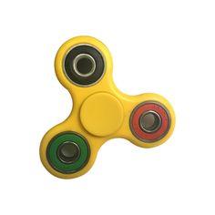 Kolorowy żółty spinner plastikowy, sklep online