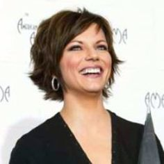 ... and Tousled Choppy Short Layered Hairstyles 2014 with Side Swept Bangs