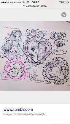Card captor tattoos