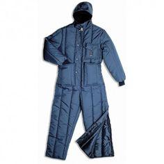 BUZO ISOTERMICO Referencia  P542 Marca:  Industrial Starter  EN 342  Para bajas temperaturas.  Color: azul Tallas: S, M, L, XL, XXL