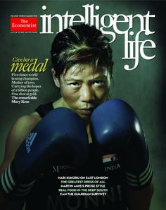 July/August 2012; Mary Kom  Mary Kom qualifies for London Olympics: Mother of Two from a remote village in Manipur...