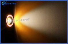"3"" 3.5"" Multi-color Yellow Projector Lens Angel Eyes COB LED Fog Lights for Trucks"