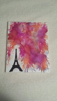 Melted Crayon Art!  My First Attempt!