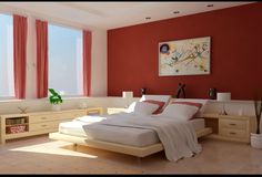 Interior design is a beautiful spacious bedroom - Interior Design | Exterior Design | Office Design | Home Design