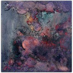 Fragmento V. Técnica mixta sobre tabla. 50 X 50 cm
