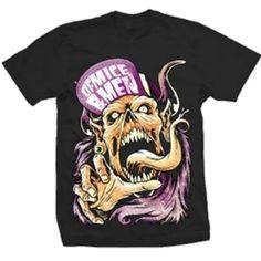 Official Of Mice & Men Flip Hat Demon shirt.