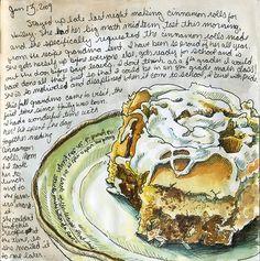 grandma's cinnamon rolls by Lisa Cheney-Jorgensen, via Flickr
