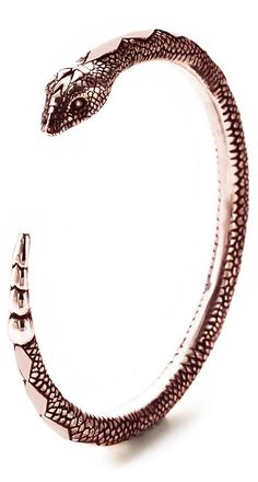 Pamela Love Rose Gold Serpent Bangle
