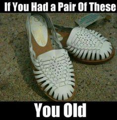 Vintage kids new leather huarache sandals 10 DOLLAR School Memories, My Childhood Memories, Childhood Toys, Great Memories, Vintage Toys, Retro Vintage, Before I Forget, Ol Days, Vintage Children