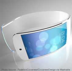 #Wearables will be with us soon.  This is one of the best looking pieces of wearable technology we have seen.