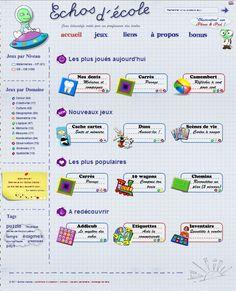 Plus de 150 jeux éducatifs en ligne pour la maternelle et la primaire en français, en mathématiques mais aussi en sciences.