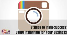 7 Steps to Insta-Success: How To Use For Your Businesss Craft Business, Business Tips, Online Business, Business Essentials, Blog Online, Internet Marketing, Social Marketing, Marketing Strategies, Marketing Tools