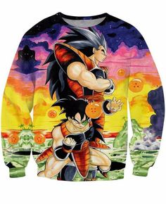 Men's Clothing Novelty Casual Design Style Pullover A Bloody Fusion Between Monkey D Luffy And Saiyan Goku Hoodies Anime Women Men Sweatshirts Excellent In Cushion Effect