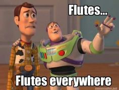 Sorry for hatin on your Flutes, but I just had to ;)  -ThatTromboneDude Way Of Life, The Life, Real Life, Mythos Academy, Lol So True, True True, Fitness Motivation, Fitness Humour, Health Fitness