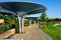 The Green at College Park becomes the first certified Sustainable Sites Initiative Landscape.