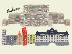 """Check out my @Behance project: """"Bucharest"""" https://www.behance.net/gallery/59840557/Bucharest"""