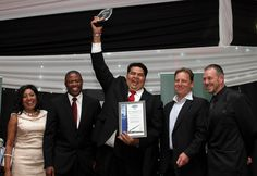 The winners in Construction and Development: Shree Property Holdings