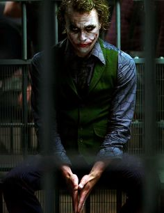 """Some men just want to watch the world burn."" 