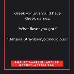 life | fitness | humor | funny | meme | author | tweets from @moooooog35 | Rodney Lacroix | Amazon: author.to/RodneyLacroix