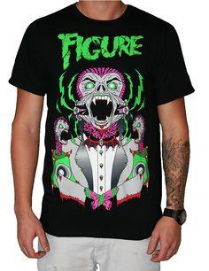Official Figure Tee - Monsters of Drumstep
