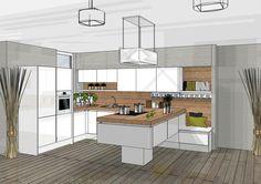 Een 3D ontwerp van je keuken – simpel en snel Waarschijnlijk heeft u al wel een idee hoe uw nieuwe keuken eruit zou moeten komen te zien. Zelf aan de slag gaan met een 3D-tekening is natuurlijk een optie. Maar waarom niet gratis een keuken laten ontwerpen door onze designprofessionals? Op deze website kunt u...