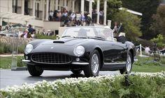1955 Ferrari 375 Plus Pinin Farina Cabriolet © Rick Wait