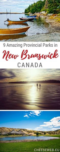 If youre thinking of camping in New Brunswick Canada dont overlook our beautiful Provincial Parks. We share highlights from the 9 New Brunswick Provincial Parks with campgrounds for your next camping adventure. things to do in New Brunswick Vancouver, Toronto, Quebec, Montreal, Backpacking Canada, Road Trip Canada, Columbia, Visit Canada, Canada Canada