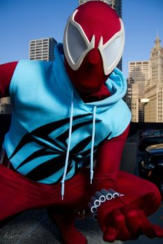 Scarlet Spider cosplay