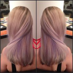 lavender peek a boo highlights - Google Search