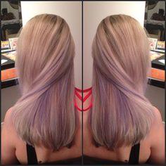 lavender peek a boo highlights - Google Search