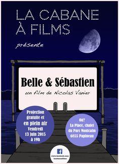 Affiche La Cabane à films - été 2015