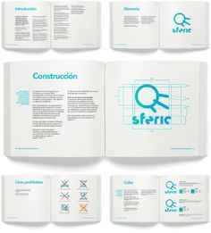 Sferic Identity Manual by Manuel Lariño, via Behance