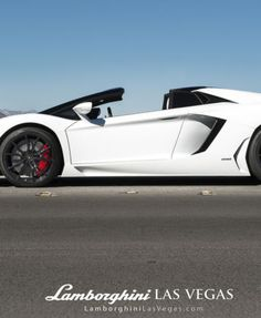 Want to drop some dollar on a white convertible this #topdowntuesday? Drop  $400k for this Lamborghini! Check it out...