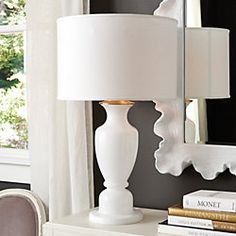 Glass Urn Table Lamp