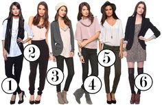 Keep photos of outfits in the closets for easy decision making in the morning!