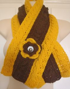 One-Eyed Hawthorn - Hawks Supporter. Support your team in style - AFL Headbands, Beanies, Hats. Scarves and Neck-warmers. All individually designed by Bar-Bar-A-Black Sheep and made to order. Black Sheep, Hawks, Neck Warmer, Beanies, Headbands, Scarves, Football, Club, Bar