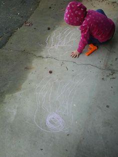 "My three-year-old drawing ""jehwyfiss""."