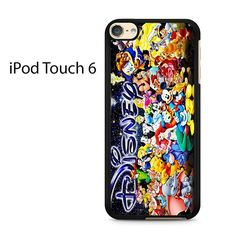 Characters Disney Ipod Touch 6 Case