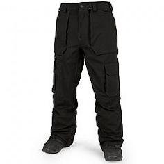 VOLCOM   SEVENTY FIVES PANTS (TECHNICAL BLACK)