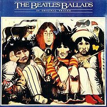 The Beatles Ballads, The Beatles, 1980, Parlophone, UK. Unofficial album, but the one that introduced me to the Beatles. My life changed from that moment and forever. My mother lent it to me and then I started my own collection. // Álbum no oficial, pero que me presentó a los Beatles. Mi vida cambió desde ese momento y para siempre. Mi mamá me lo prestó y luego empecé mi propia colección.