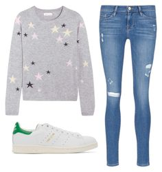 """""""Untitled #142"""" by erica5121 on Polyvore featuring Chinti and Parker, Frame Denim and adidas Originals"""