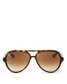 Ray-Ban Gradient Aviator Sunglasses, 59mm