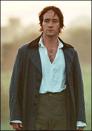 Mr. Darcy Has a Mullet: A Jane Austen Hero for the 21st Century - New York Times.  I wouldn't call it a mullet, exactly.  When he's walking toward Keira Knightley in the early morning mist, though, he could have had a full Bozo coif going - that's how delicious his desperate confession of love was...