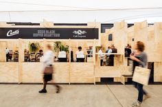 Code Black, Melbourne International Coffee Expo by ZWEI Interiors Architecture, shortlisted for Best Temporary Design.