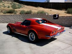 1970 Corvette. Love the color and the rally wheels.
