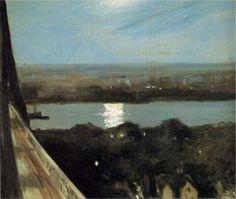 Edward Hopper - Blackwell's Island 1911 art.is.hard