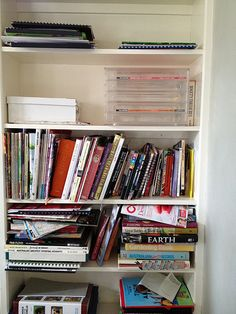 Decluttering - Home Station Before